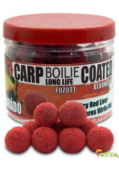 Carp Boilie Long Life Coated Spicy Red Liver 70g/18mm