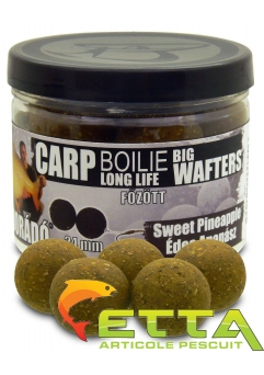 Carp Boilie Big Wafters Sweet Pineapple 70g/24mm