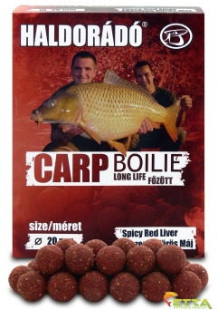 Carp Boilie Long Life Spicy Red Liver 800g/20mm