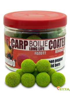 Carp Boilie Long Life Coated Green Pepper 70g/18mm