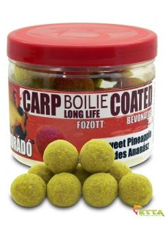 Carp Boilie Long Life Coated Sweet Pineapple 70g/18mm
