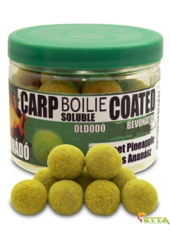 Carp Boilie Soluble Coated Sweet Pineapple 70g/18mm