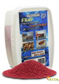 Fluo Micro Method Feed Pellet Chili&Squid 400g