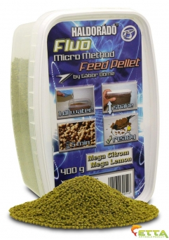 Fluo Micro Method Feed Pellet Mega Lemon 400g