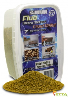 Fluo Micro Method Feed Pellet Green Afrika 400g