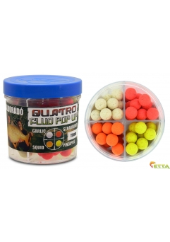Quatro Fluo Pop Up Boilies 11mm 50g