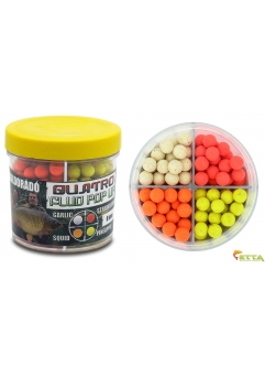 Quatro Fluo Pop Up Boilies 8mm 50g