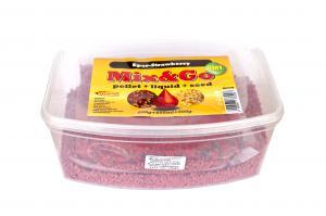 Pelete MIX&GO Pellet Box 3 in 1 Capsuni (600g pelete + 600ml aroma + 600g seminte)