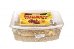 Pelete MIX&GO Pellet Box 3 in 1 Miere (600g pelete + 600ml aroma + 600g seminte)