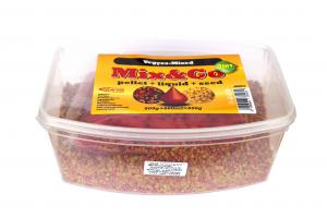 Pelete MIX&GO Pellet Box 3 in 1 Mix (600g pelete + 600ml aroma + 600g seminte)