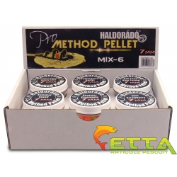 Pro Method Pellet 7mm - MIX-6 / 6 arome intr-o cutie