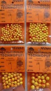 Technopufi Vitamine (galben+rosu) - midi