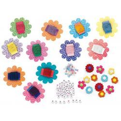 Set Creativity Bratari Florale Faber-Castell
