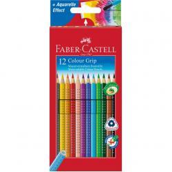 Set 12 culori Creioane Colorate Grip 2001 Faber-Castell