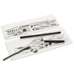 Carbune Natural Diametru 6-11mm Pitt Monochrome Faber-Castell