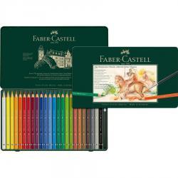 Creioane Colorate 24 Culori A.Durer Magnus Cutie Metal Faber-Castell