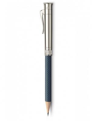 CREION PERFECT PENCIL PLATINA GUILLOCHE NIGHTBLUE Graf Von Faber Castell