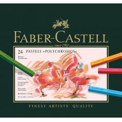 CREIOANE PASTEL 24 CULORI POLYCHROMOS Faber-Castell