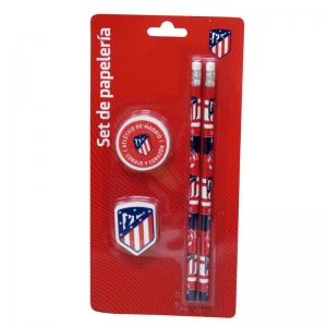 Set papetarie Atletico Madrid Red, 4 piese