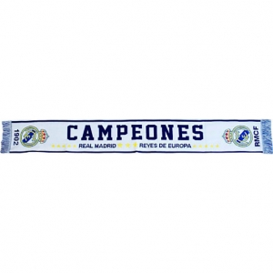Fular Real Madrid Campeones, adult, 140cm