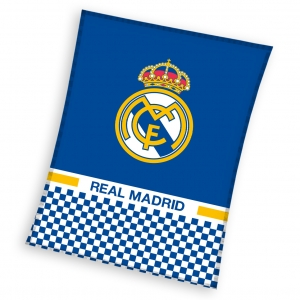 Patura polar Real Madrid, 110x140cm