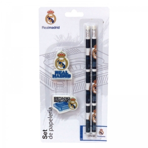 Set papetarie Real Madrid Team, 4 piese