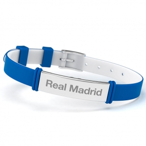 Bratara fashion Real Madrid, bleu, adult