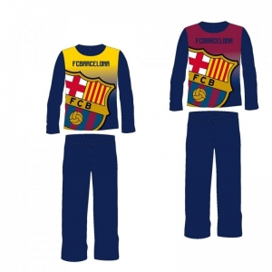 Pijama FC Barcelona, color, copii