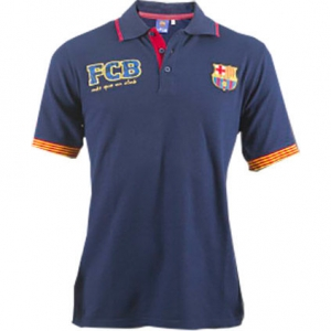 Tricou Polo inscriptionat FC Barcelona, copii