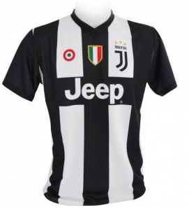 Tricou inscriptionat Juventus, adult, replica