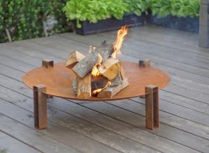 Fire Pit Alna, D80 cm2
