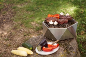 Mini Grill Top Table. D37 cm3