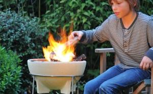 Bol ceramic pentru foc, D34 cm2