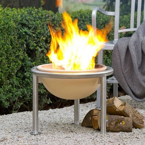 Fire Pit Ceramic Fire Friend