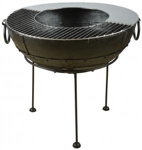 Grătar / plită pentru fire pit