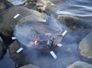 Grătar pentru fire pit