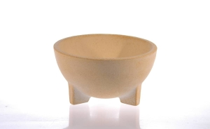 Mini bol ceramic pentru foc, D24 cm3