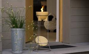 Închiriere sfeșnic ceramic CERANATUR® cu stand de inox0
