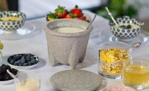 Vas ceramic pentru preparat iaurt3