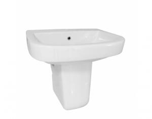 Lavoar de baie cu semipiedestal Neo0