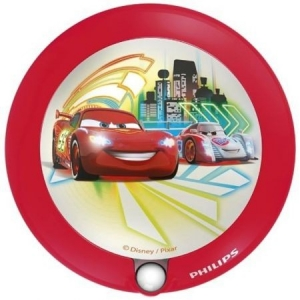 Lampa de veghe Philips Disney Cars, LED, 1X0.06W, rosu0