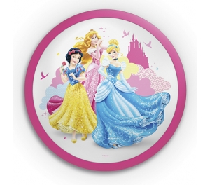 Aplica Disney Princess, K 1xLED/4W ,IP20 , roz, Philips0