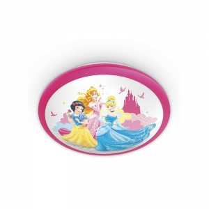 Aplica Disney Princess, K 1xLED/4W ,IP20 , roz, Philips1