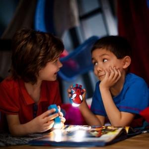 Lanterna Disney Spiderman K 1xLED/0,3W IP20, Philips1