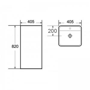 Lavoar freestanding Corso Foglia1