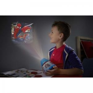 Proiector și lampă de veghe 2 în 1, Spiderman 3xLED/0,1W si 0,3W, IP20, Philips1