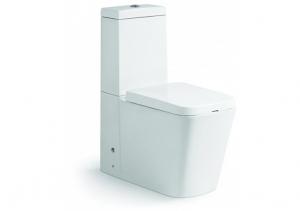 Vas wc Square duobloc + capac soft close inclus0