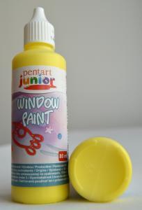 Window paint galben 80 ml