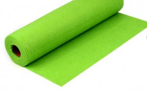 Rola fetru verde deschis 1mm grosime