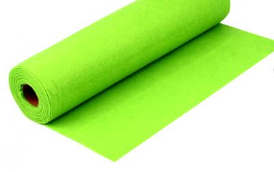 Rola fetru verde neon 1mm grosime